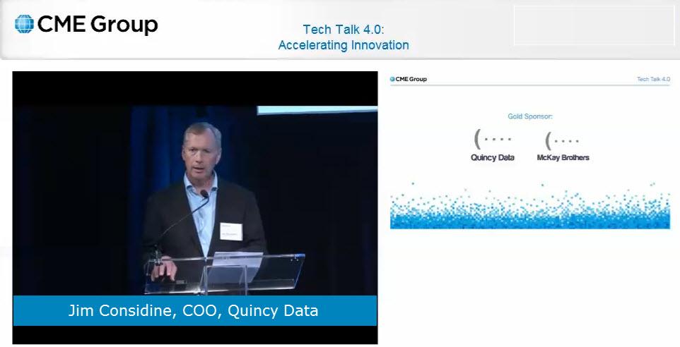 Jim at CME Tech Talk